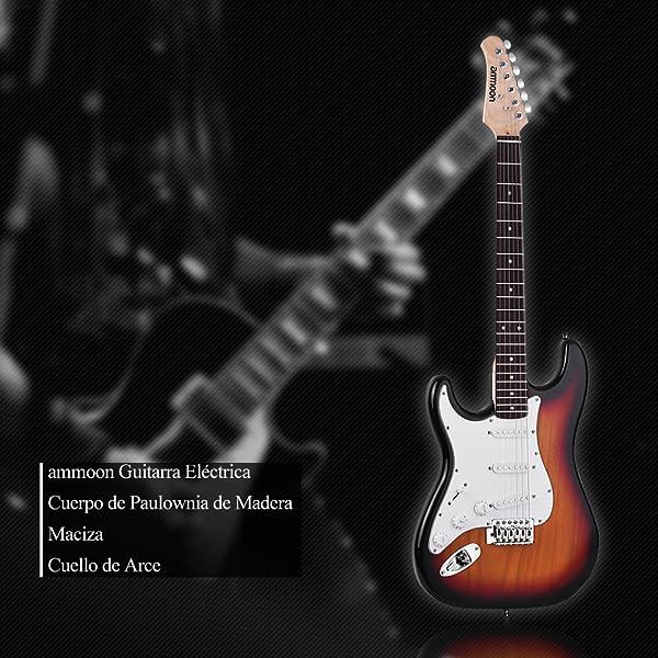 21 trastes de guitarra eléctrica de madera maciza de Paulownia Body, mástil de arce para guitarrista izquierdo. Está equipado con 3 captadores de bobina ...