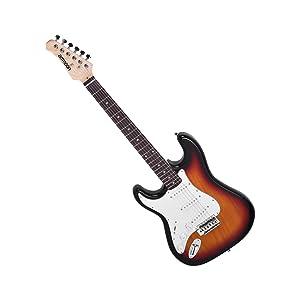 21 trastes guitarra eléctrica de Paulownia Body, mástil de arce, longitud de escala de 648 mm.