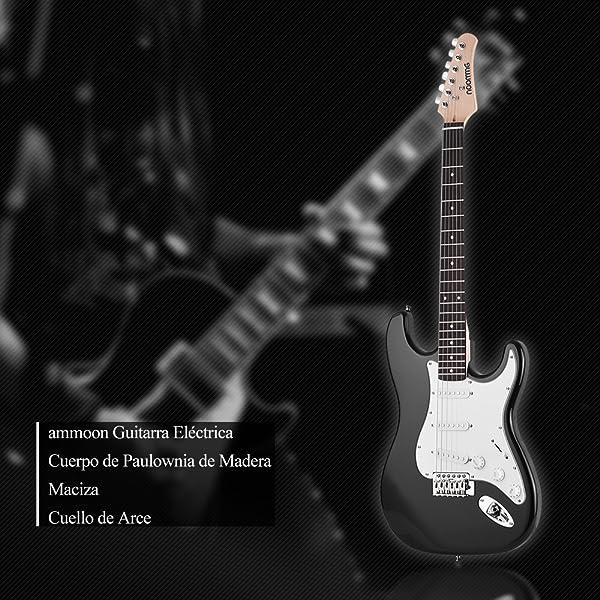 21 trastes de guitarra eléctrica de madera maciza de Paulownia Body, mástil de arce para guitarrista derecho. Está equipado con 3 captadores de bobina ...