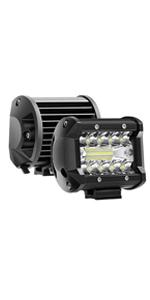 AAIWA Focos de Coche, LED Luz de Trabajo Bar Focos Led para 2 ...
