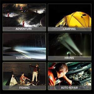 Foco LED Proyector Aaiwa 48W 4800LM Lámpara Camping Recargable Luz de Trabajo LED Linterna para