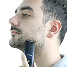 Este cortapelos está equipado con una cabeza de afeitadora eléctrica. Antes de afeitarse, debe elegir una cabeza de afeitadora eléctrica y girarla hacia la ...
