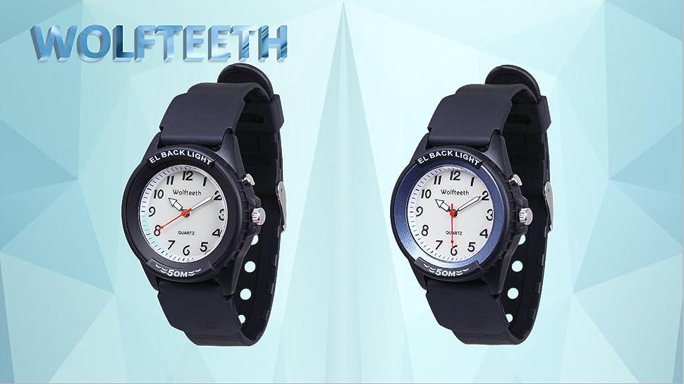 Great Starter First Watch para niños; Reloj con estilo del diseñador de lujo para los muchachos / las muchachas / los adolescentes / los adultos; ...