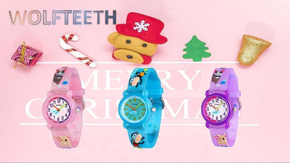 Este es un reloj de pulsera Cute Cool Beautiful Little Kids, un regalo perfecto para tus adorables niños. El reloj es adecuado para uso diario, ...