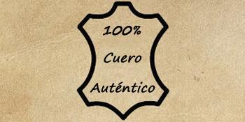 100% cuero autentico