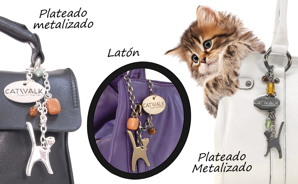 Abalorio de gato incluido con la compra de un bolso