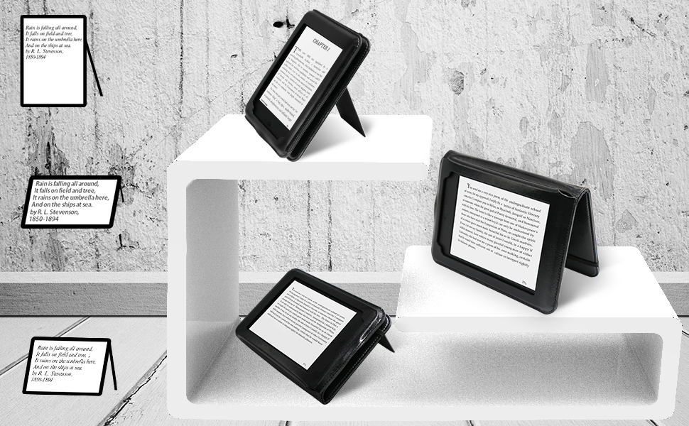 AUAUA Funda Kindle Paperwhite, Protectora Carcasa de cuero ...