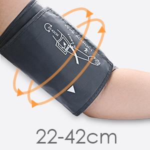 ¿Por qué se realiza una medición precisa y cómoda con la brazalete de ABOX tensiómetro?
