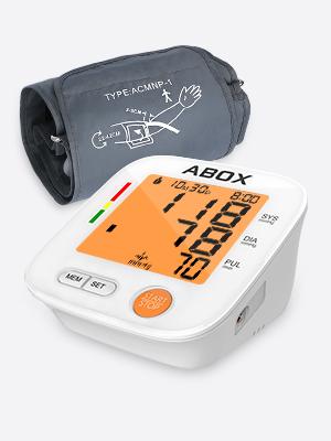 Este pequeño monitor de presión arterial para llevar con usted le permite realizar una medición en cualquier lugar, en la casa, la oficina y el viaje.