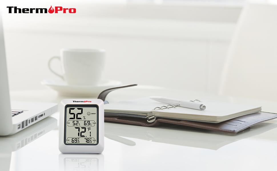 ThermoPro TP50 Termómetro Higrometro Digital para Interior ...