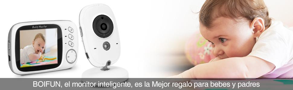 BOIFUN, el monitor inteligente, es la Mejor regalo para bebes y padres.