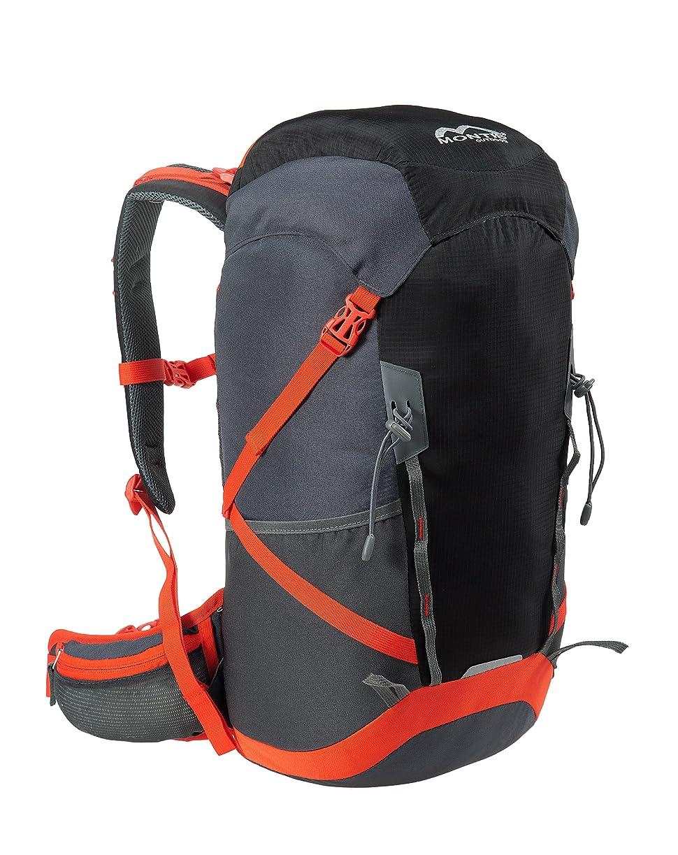 MONTIS ALPIZ AIR 30 - Mochila de senderismo, deporte y uso diario - 30 L - 800 g