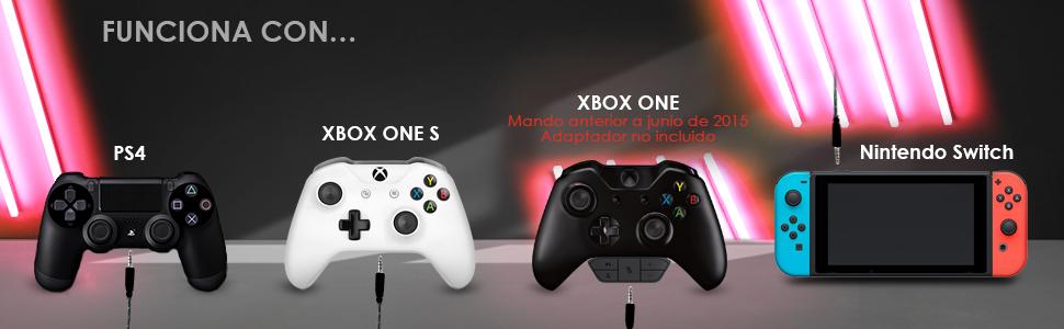 Auriculares gamer, Gaming, Micro, Micrófono, PC, ordenador portátil, PS4,