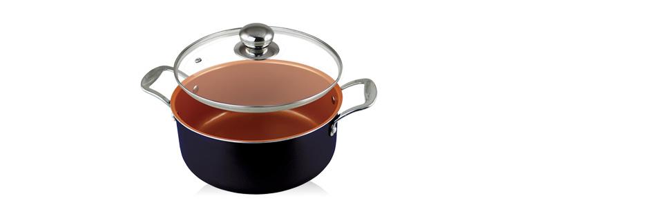 POTE DE SALSA DE ACERO INOXIDABLE CON TAPA: Lleve a su mejor amigo a su cocina que ...
