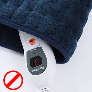 Almohadilla Elèctrica de Calefacción MaxKare Función de Apagado Automático Configuración de Temperatura de 6 Engranajes el Calefactora Rápido ...