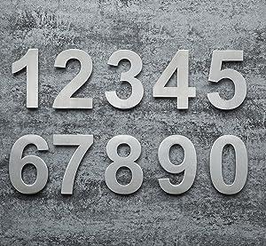 Galería de números y letras