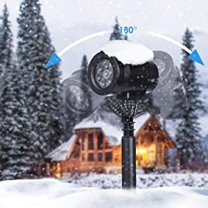 Albrillo Luz de Proyección LED para Navidad - Proyector con Varios ...