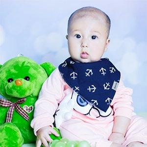 Baberos Yoofoss Bandana 8 paquetes para recién nacidos y niños pequeños  pueden proteger a su bebé babeo   dentición de todos los goteos y escupidas  en la ... 975b1e438477