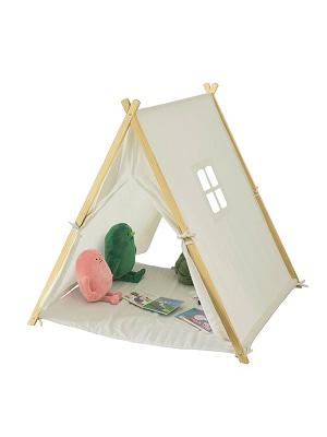SoBuy OSS02-W Tienda de campaña Infantil, Tienda Tipi - Tienda de campaña Interior para niños,ES (Blanco): Amazon.es: Juguetes y juegos