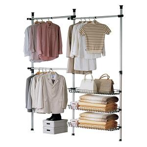 Las cestas de alambre 3 complementan las barras de armario y crear un espacio de almacenamiento adicional para accesorios tales como bolsos, ...