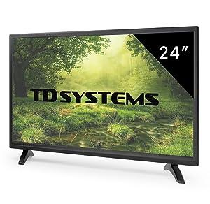 Televisor Led 24 Pulgadas Full HD, TD Systems K24DLM7F. Resolución ...