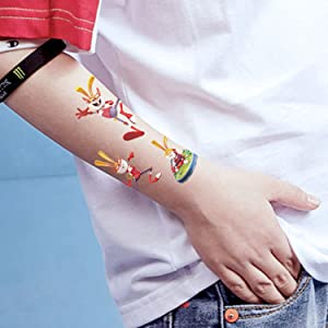 SZSMART Tatuajes Dinosaurios Tatuajes Temporales para Niños ...