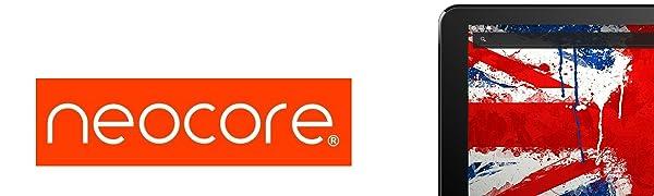 Neocore N1 Tablet PC 10.1 Pulgadas con Sistema Android, 16GB Expandible a 400GB, Pantalla HD IPS, Quad Core, HDMI y Cámara Dual