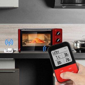 Especificación de temperatura inteligente. Este termómetro de cocción digital ...