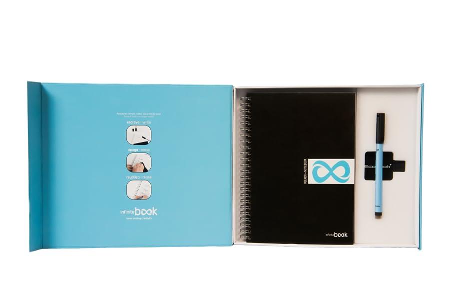 InfiniteBook- Agenda Notebook A5 - Tapa dura: Amazon.es ...