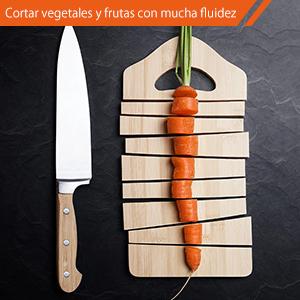 RIVERSONG Afilador de Cuchillos 4 in 1 Multifuncional Doméstico para Cuchillos y Tijeras Hogar Herramientos de Cocina Afilador Manual Buen Asistente ...