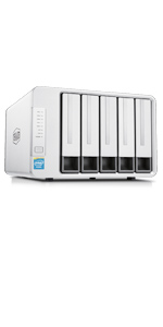 TerraMaster F4-220 - Caja de Servidor NAS 4 bahías Intel Dual Core 2.41GHz 2GB RAM Almacenamiento en Red(Sin Discos): Amazon.es: Informática