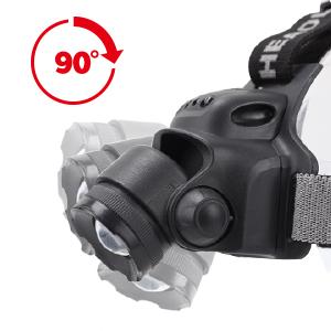 N N.ORANIE Linterna Frontal LED Impermeable USB Recargable Luminancia 300LM Distancia de Irradiaci/ón 100M 3 Modos de Iluminaci/ón para Bicicleta Camping Lectura /Linterna de Cabeza Potencia