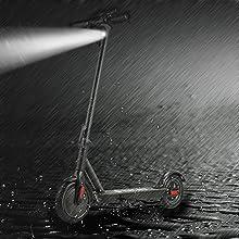 Phaewo Patinete Electrico X9, Scooter Electrico Plegable de 8,5 Pulgadas, el Patinetes con Neumáticos de Aire, Freno de Disco ABS, 2 Velocidades, ...
