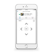 Usalo como control remoto Nixplay app