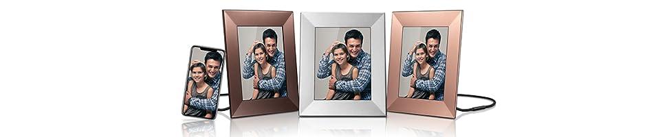 Nixplay Iris es la forma más sencilla de mantener el contacto a través de fotos. Tus amigos y familiares pueden compartir sus imágenes con tu marco o ...