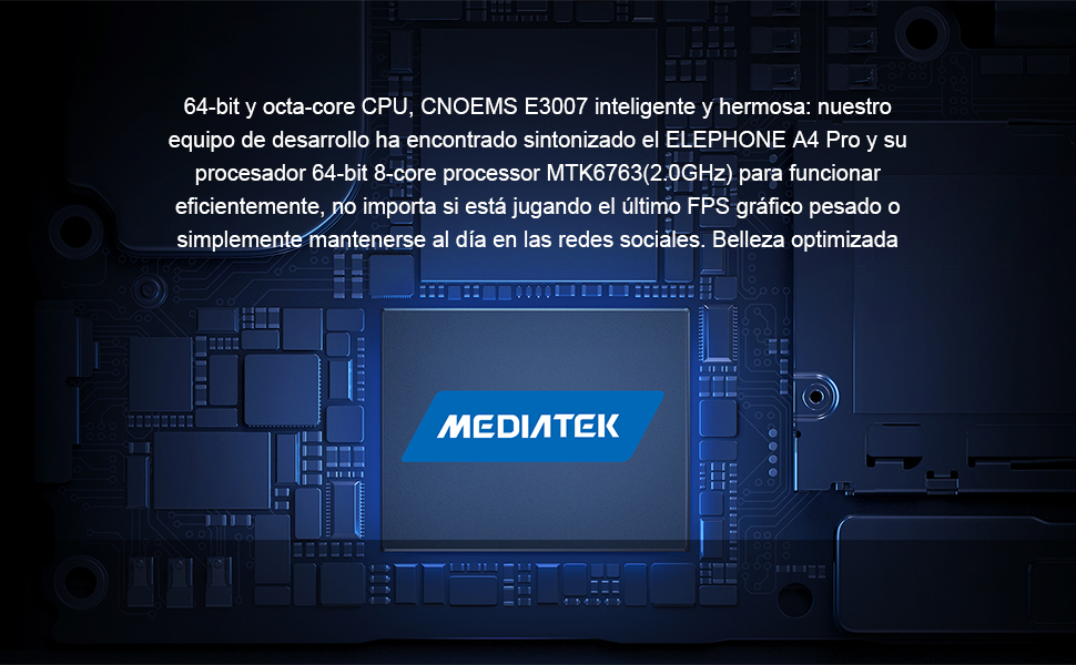 ELEPHONE A4 Pro Smartphone Libres - 5,88