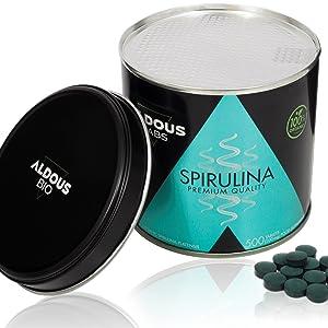 espirulina ecologica spirulina organic aldous labs