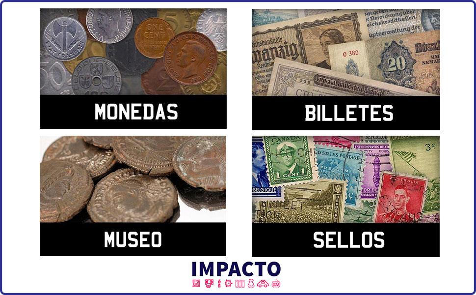 IMPACTO COLECCIONABLES Medallas del Mundial - 8 Monedas de los ...