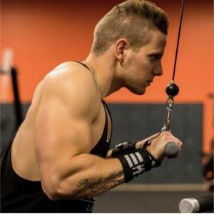 GripElite Muscle specialist Muñequeras Crossfit - Musculación ...