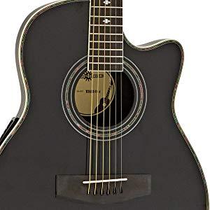 Guitarra Electroacustica Roundback de Gear4music Negra: Amazon.es ...