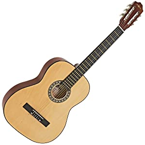 Guitarra Espanola de Gear4music Natural: Amazon.es: Instrumentos ...