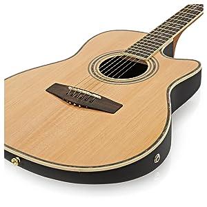 Guitarra Electroacustica Con Dorso Redondeado de Gear4music ...