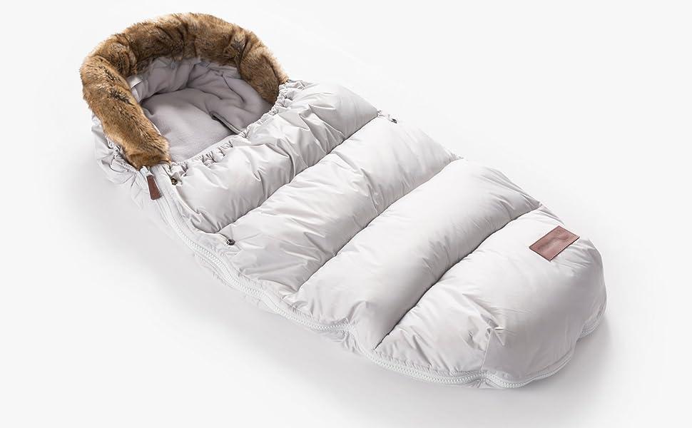 tejido trasero 3D Saco de Beb/é Universal Silla Polar COMPLETO Cubre Arn/és de regalo desmontable