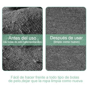 GHB Quitapelusas Recargable Eléctrico Pelota de Pelo Trimmer para Jersey suéter Prendas de Lana Todo Tipo de Tejidos: Amazon.es: Hogar