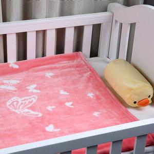 i-baby Manta Beb/é Mantas Infantiles Para Cuna Cama Infantil Ni/ñas Manta Grande Reci/én Nacidos 4 Estaciones 1 a 6 a/ños Estrella Azul, 120x150cm