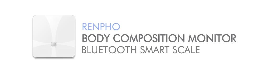 RENPHO Bluetooth Báscula de baño utiliza la tecnología de análisis de impedancia ...