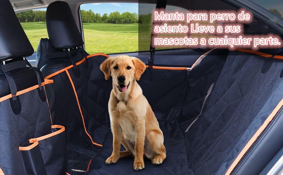 DADYPET Funda para Asiento de Perro Protector Maletero Coche ...