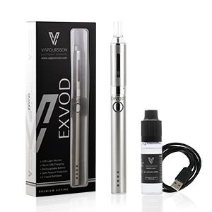 ¡El Exvod Clearomizer es recargable y fácil de usar, desenroscalo, llénalo con tus e-líquidos favoritos y comienza a vapear! Fuerte, duradero y protegido ...