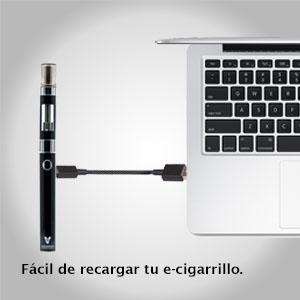 Vapoursson Imán \ Cigarrillo electrónico \ Carga Micro USB \ Indicador LED \ Bobina doble pro tanque \ Tapa Magnética \ Batería 650mAh \ Tanque de ...