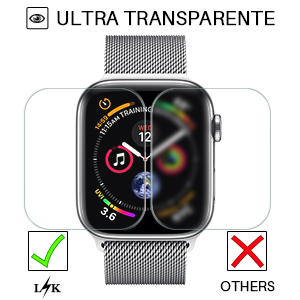 LK Protector de Pantalla para Apple Watch 42mm / 44mm Series 5/4/3 ...